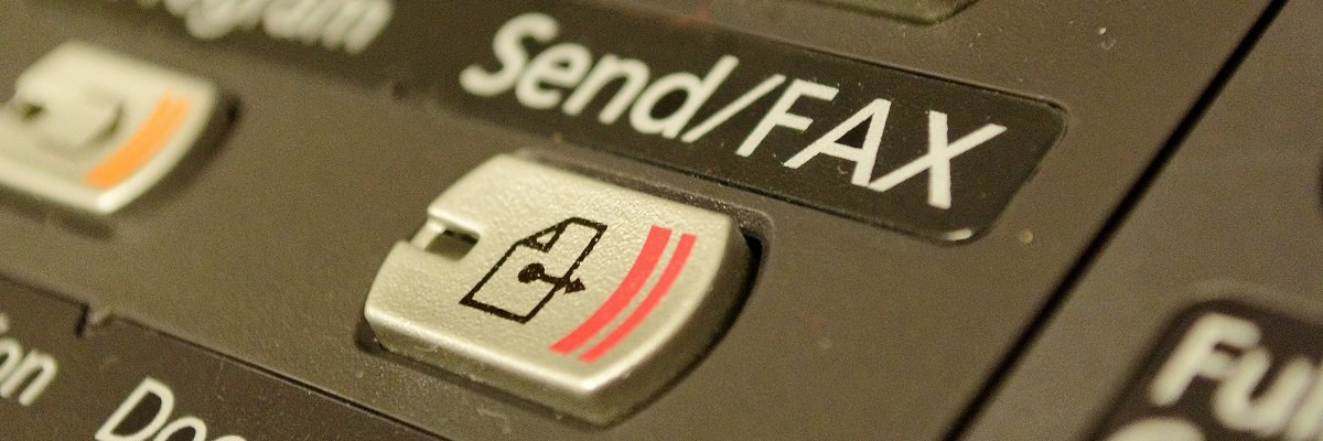 Not the fax, ma'am : DoD out of cash to buy new machine