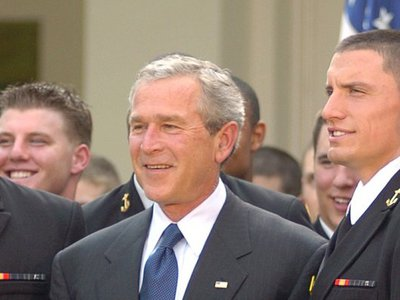 You can now FOIA George W. Bush's presidential records