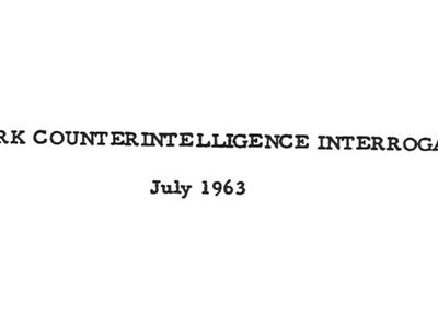 CIA declassifies new portions of Cold War-era interrogation manual