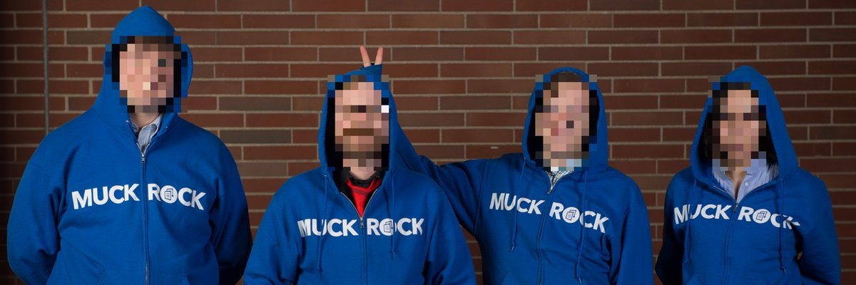 Get a limited-edition hoodie and support MuckRock's transparency mission