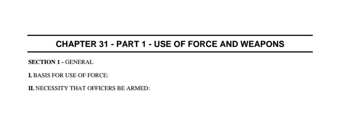 Read Miami-Dade Police Department's Use of Force policy
