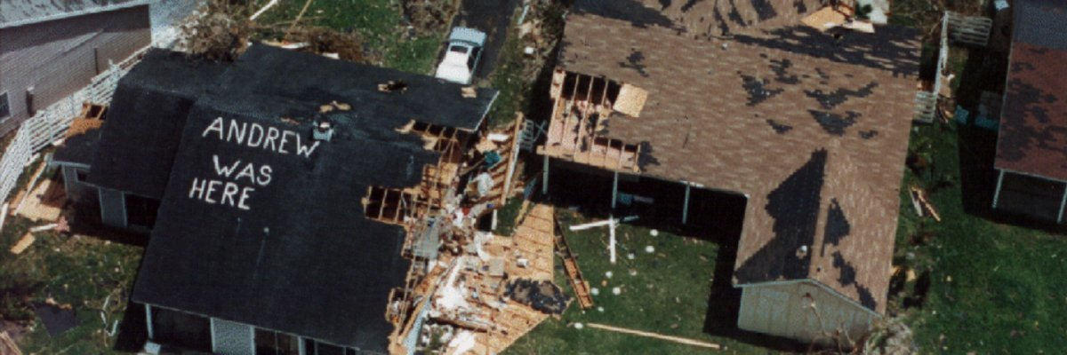 Hurricane Andrew exposed coordination issues, public confidence concerns
