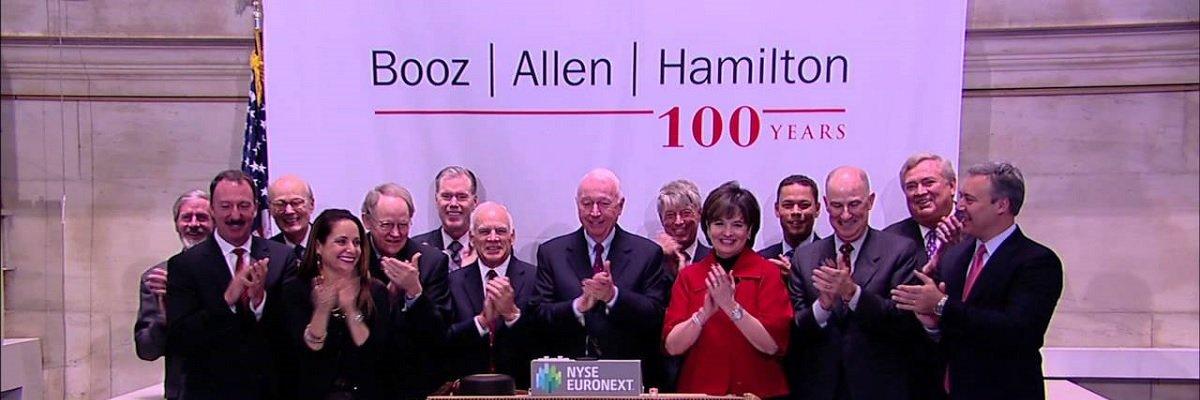 Help us analyze one of America's most secret contractors: Booz Allen Hamilton