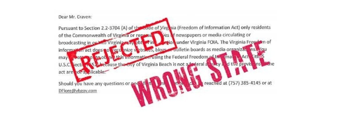 Virginia, Tennessee restricting records access to citizens