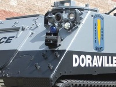 Help crowdfund the release of the infamous Doraville SWAT tank video docs