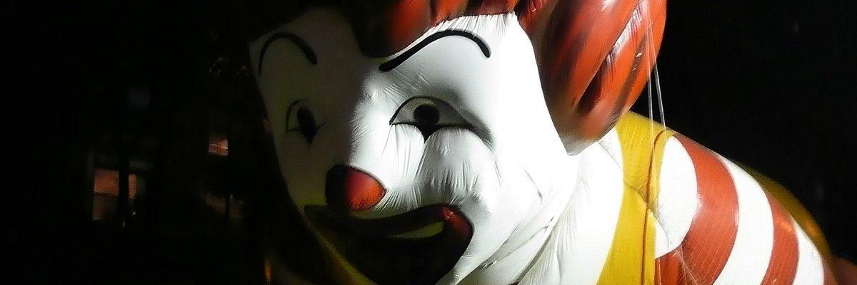 2016 creepy clown sightings FOIA map