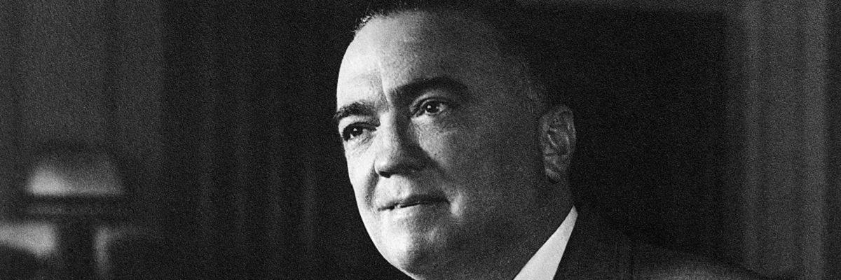 The cringeworthy comedy of J. Edgar Hoover