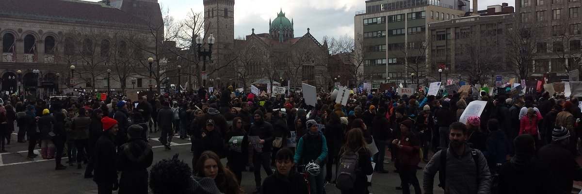 Boston Police underestimated size of Women's March protests by nearly 150 thousand