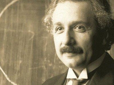 Albert Einstein, as described by CIA psychics