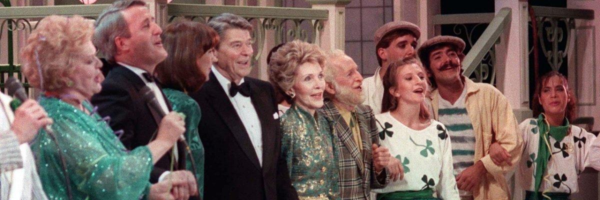 Ronald Reagan's Irish spy joke