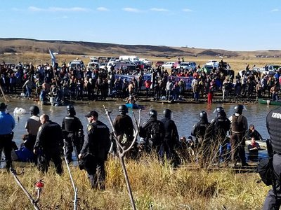 Emails highlight constituents' role in Wisconsin recalling troopers from Standing Rock