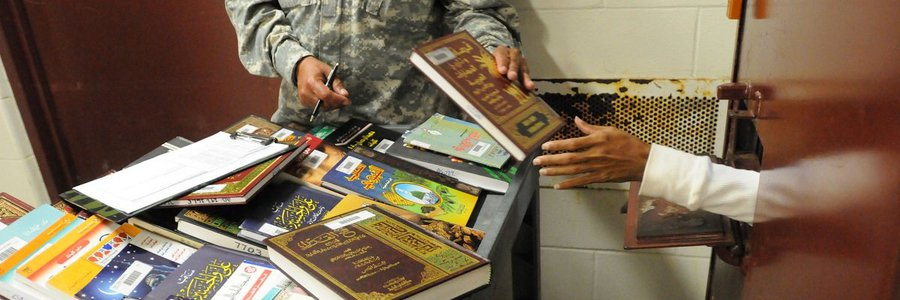 Checking out Guantanamo Bay's secretive detainee library