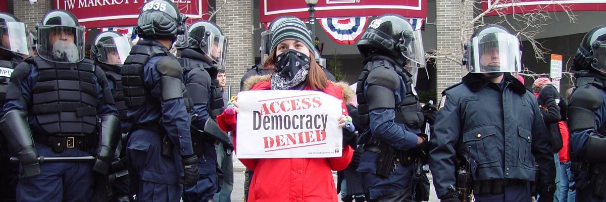 Five law enforcement agencies that don't want you looking at their protest records