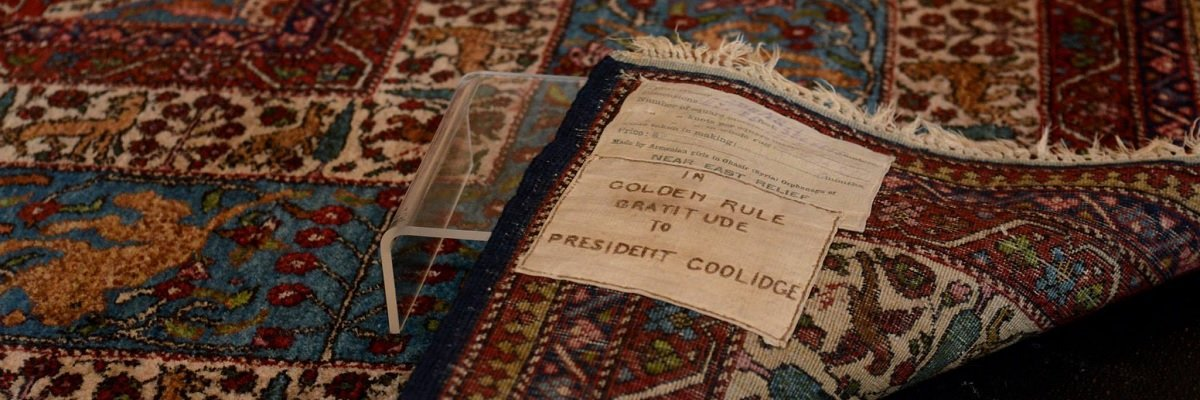"Ever-looming controversy: the fight over the ""Armenian Orphan Rug"""