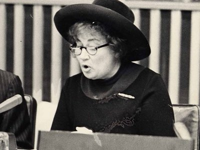 When Congresswoman Bella Abzug and the CIA went to war