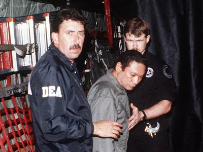 CIA worked with White House to kill probe into Noriega's drug trafficking