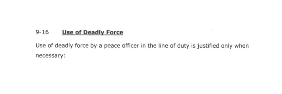 Read St. Anthony Police Department's Use of Force Policy