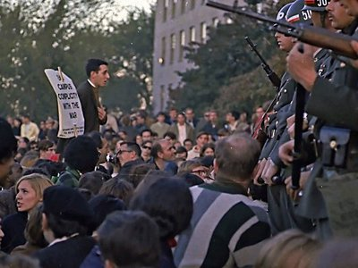 "During the Vietnam War, FBI used the press as a cover to ""avoid embarrassment"" while surveilling protests"