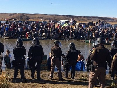 "DAPL threat assessment paints nonviolent Standing Rock protestors as unruly mob, defends use of attack dogs as ""protection"""