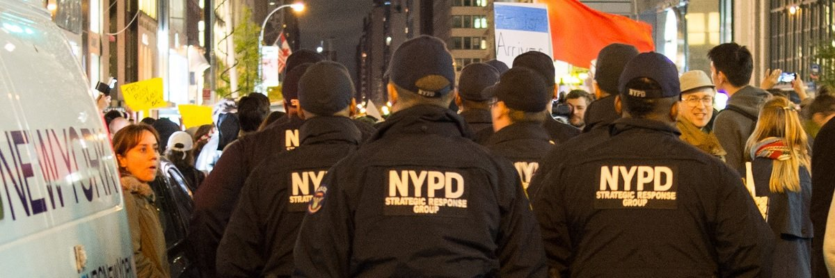 Between the election and the inauguration, the NYPD spent an estimated $35 million guarding Trump Tower
