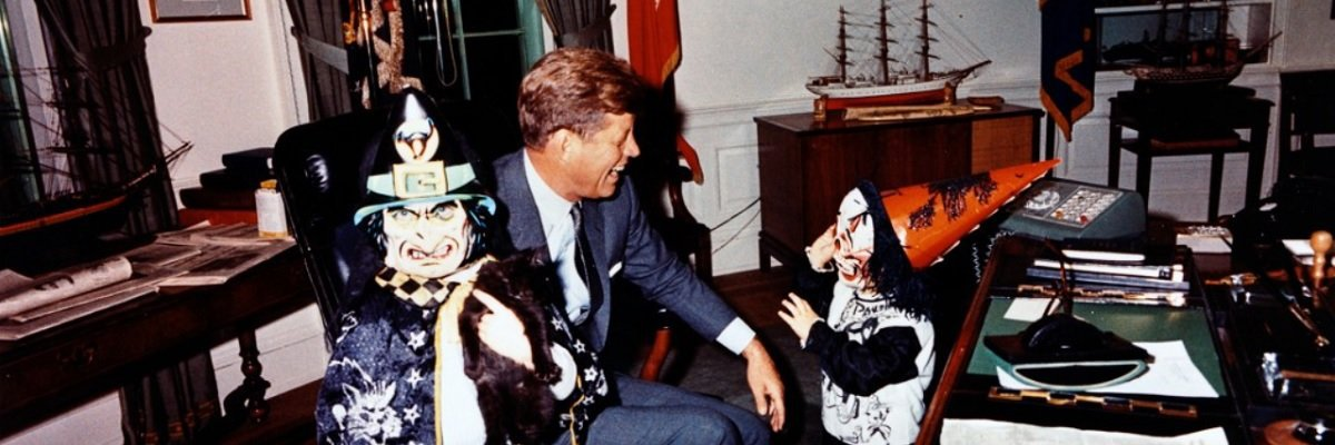 The CIA's Halloween parties were lit