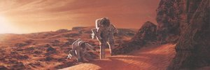 Walks through a sunken dream: the CIA report on life on Mars
