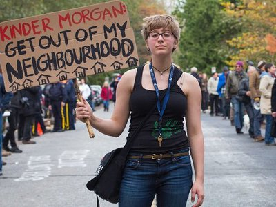 Kinder Morgan paid Massachusetts State Police $115 thousand to defend controversial pipeline