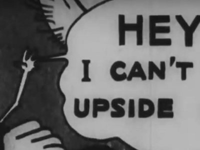 Five of the strangest moments from the National Archives' cartoon collection