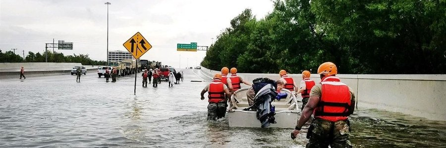 How does a private prison handle a hurricane?