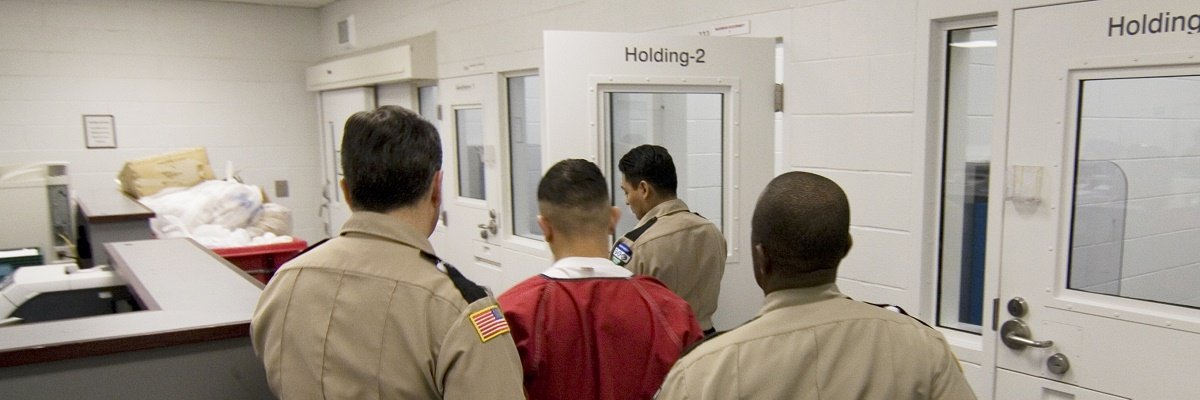 While deportation rates drop, the number of people held at detention centers steadily rises