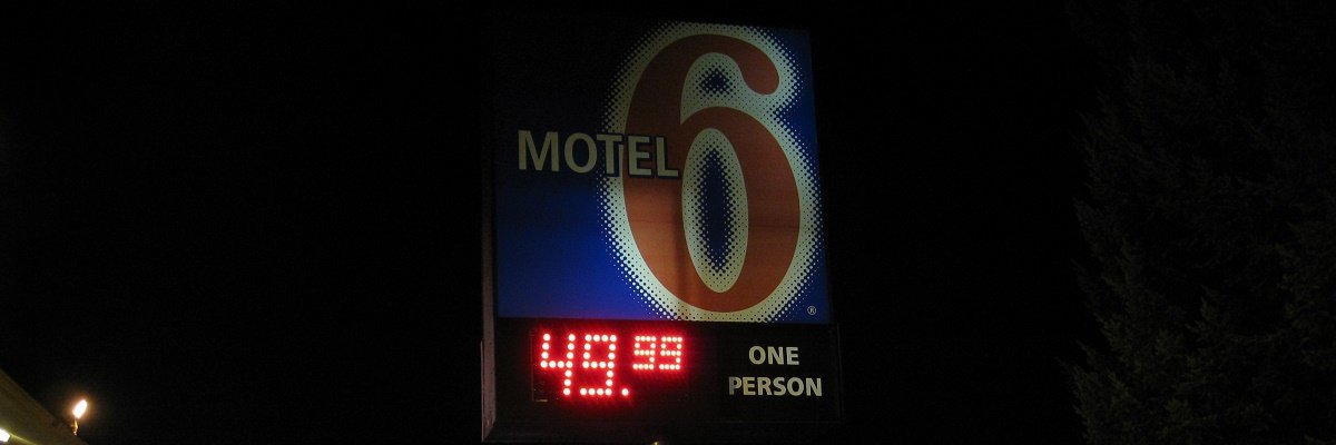 Motel 6 isn't scared of the ACLU
