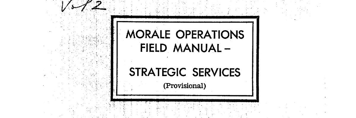 Win friends and destroy your enemies with CIA's wartime guide to bribery and blackmail