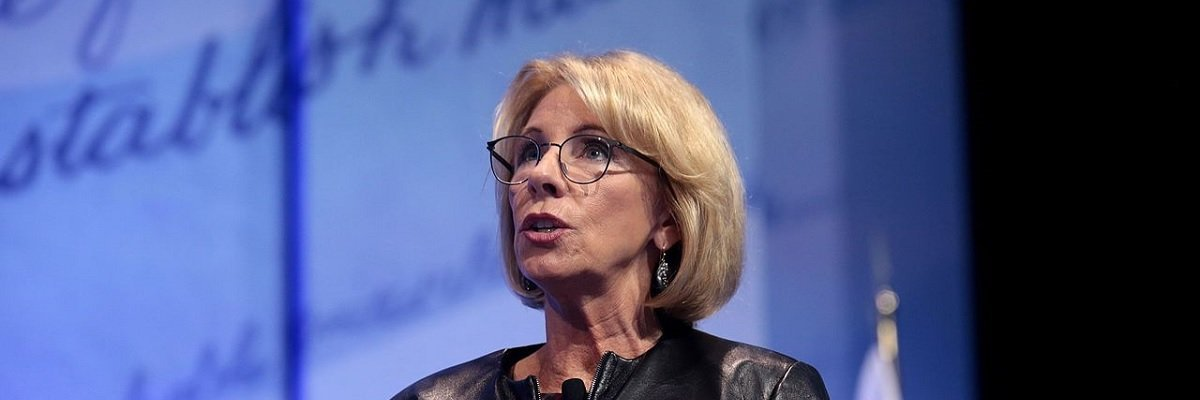 Over two-thirds of all Title IX cases that have ever been resolved were a result of guidelines Betsy DeVos just rescinded