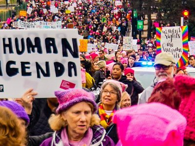 """Records show D.C. Police used an LRAD sound cannon to """"direct crowd flow"""" during the Women's March"""