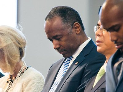 Using FOIA to sit in on Ben Carson's Bible study and provide better criminal justice oversight