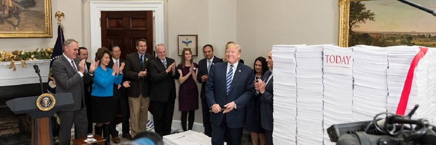 Trump's deregulation efforts are still going strong