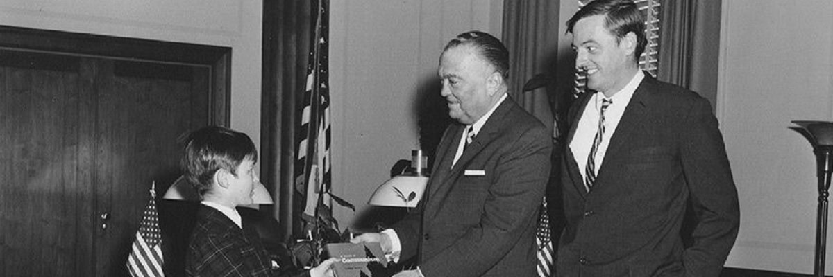 J. Edgar Hoover's inability to understand satire ended his decades-long friendship with William F. Buckley