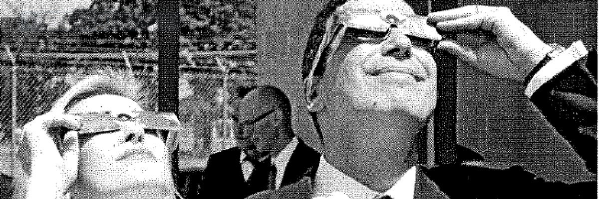 Proof Steve Mnuchin did enjoy the eclipse, Sean Hannity's real estate collection, a revamped CIA card game, and other FOIA wins this week
