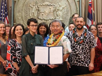 Hawaii Becomes 12th state to ban conversion therapy for minors