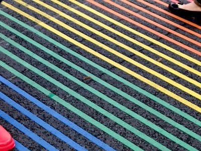 Public records show surprising difficulties and high costs behind rainbow crosswalks