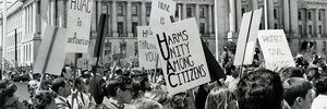 FBI's campaign to discredit HUAC protests as Communist agitation faced internal pressures