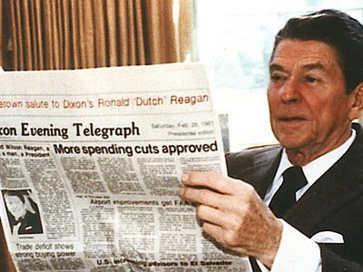 What you've found in Ronald Reagan's FBI file so far