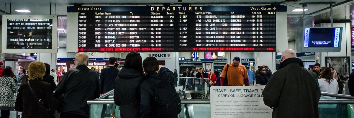 Amtrak Police report blames mystery bystander for 2017 stampede at New York's Penn Station