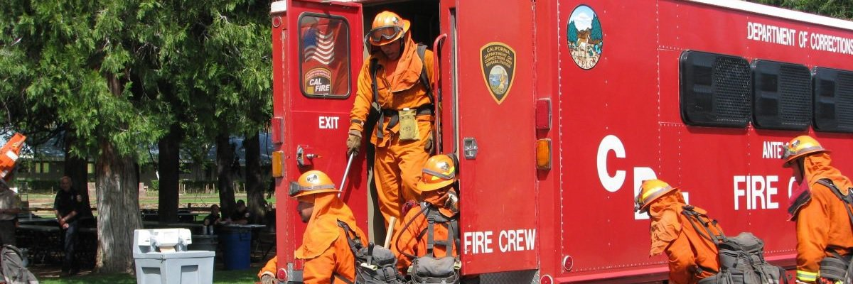 California inmates are ready year-round to combat fires