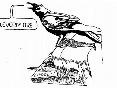 Quoth the █████: Read the CIA's declassified computer-themed Edgar Allan Poe parody