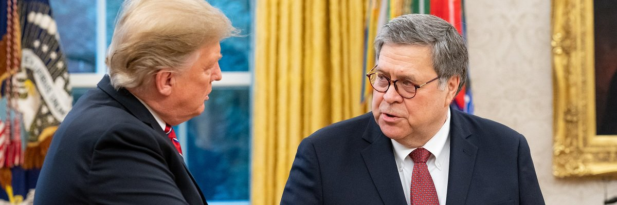 While at the CIA, William Barr drafted letters calling for an end to the Agency's moratorium on destroying records