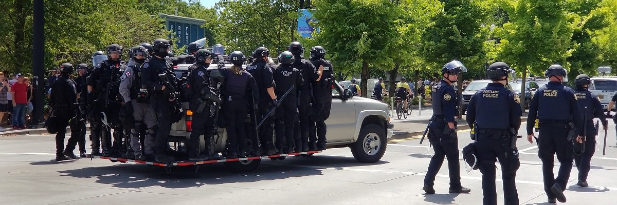 "Recently released records show Portland Police Bureau targeted counter-protesters, ignored armed alt-right demonstrators at ""Patriot Prayer"" rally"