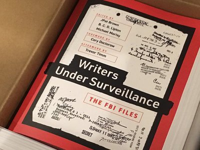 """""""Writers Under Surveillance"""": MuckRock's first book highlights the surveillance of America's authors"""