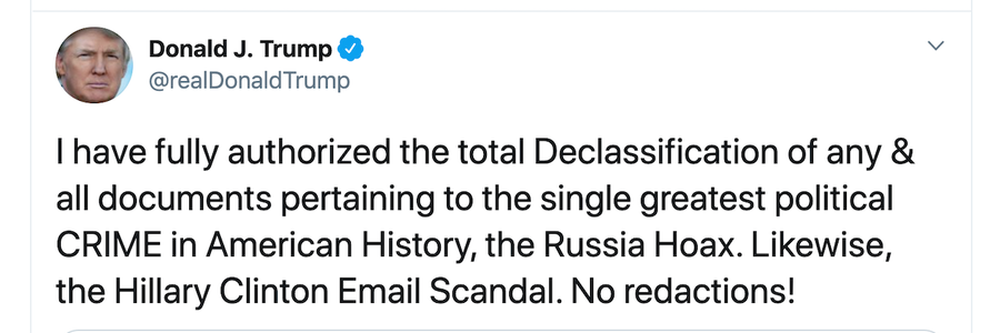 FOIA roundup: Trump's tweet may trigger declassification and more from FOIA