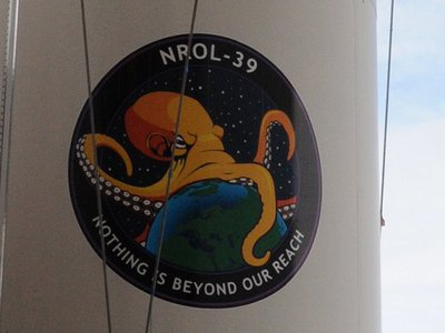 How an engineering in-joke led to a spy satellite's world-eating octopus logo